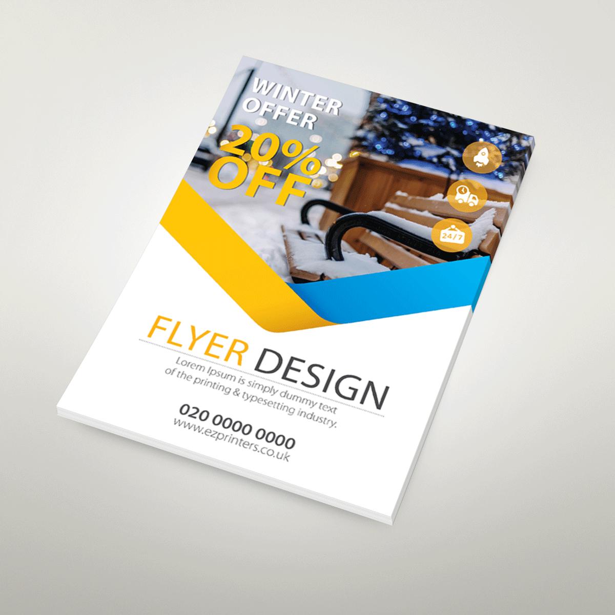 A6 Flyers Amp Leaflets Printing London Ez Printers