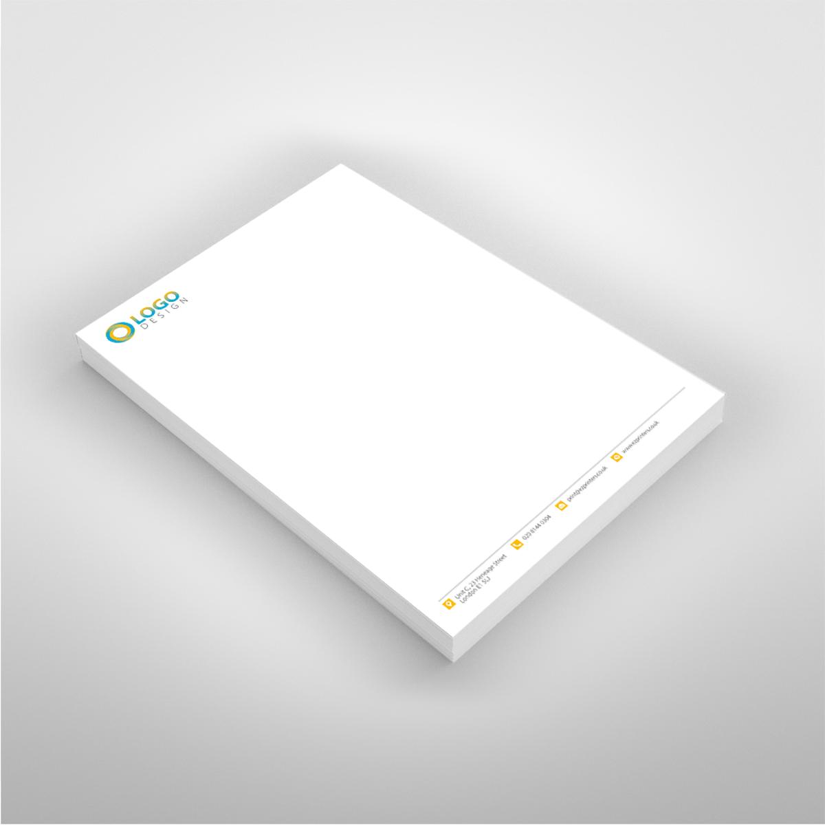 Business stationery design and printing ez printers cheaplastminuteinstant120gsmmattfinishedqualityfullcolourletterheadprintingshopeastlondonshoreditchbricklane reheart Image collections