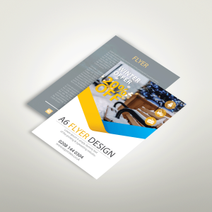cheap a6 flyers leaflets trade printer free artwork template london e1 near me