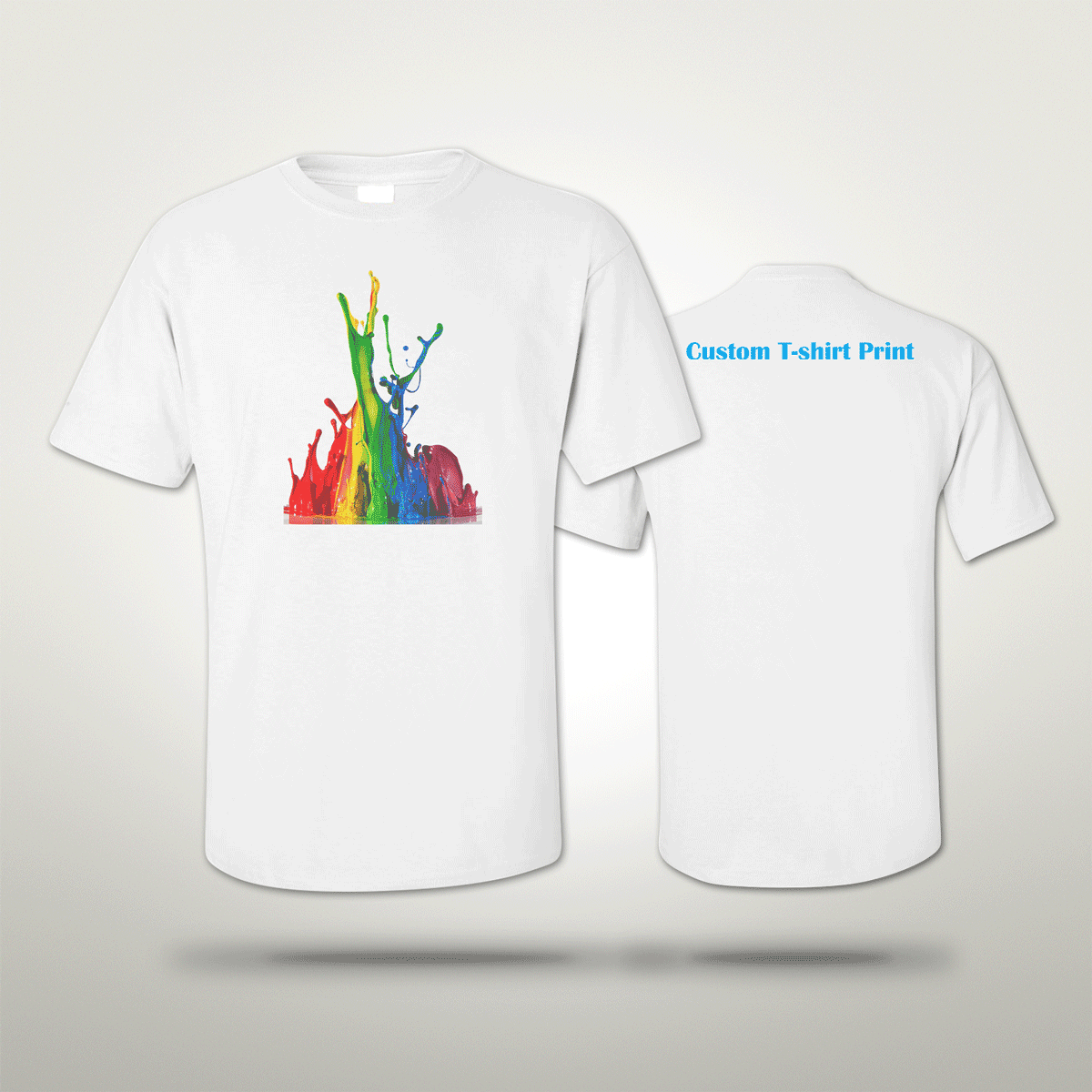 Personalised t shirt cheap t shirts printing london ez for Cheap t shirt printing next day delivery