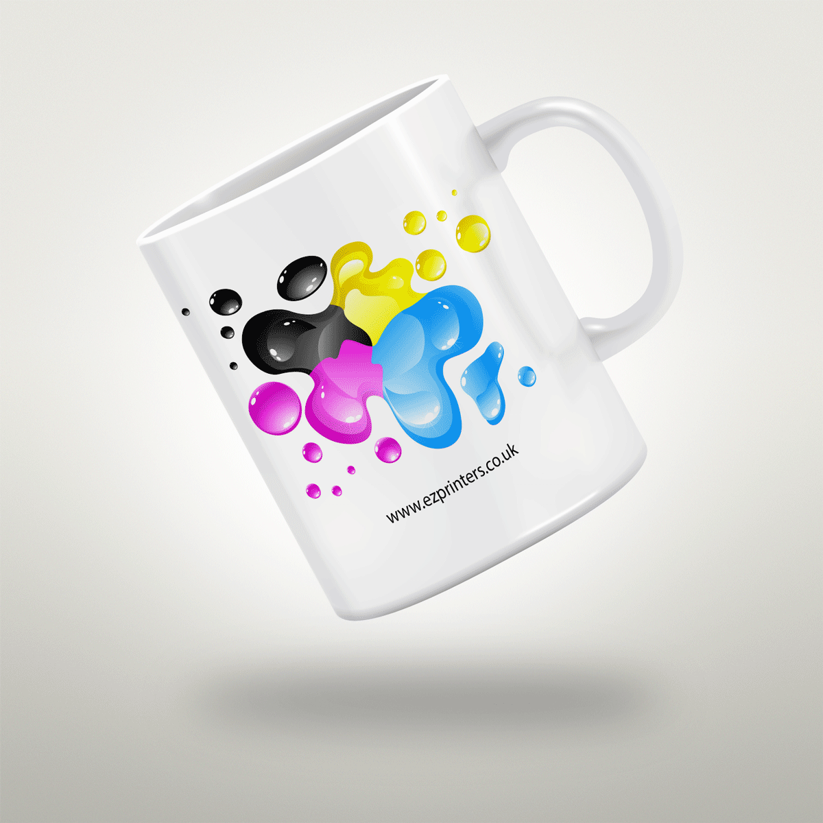Personalised mugs custom mugs design and print ez printers for Cheap t shirt printing next day delivery