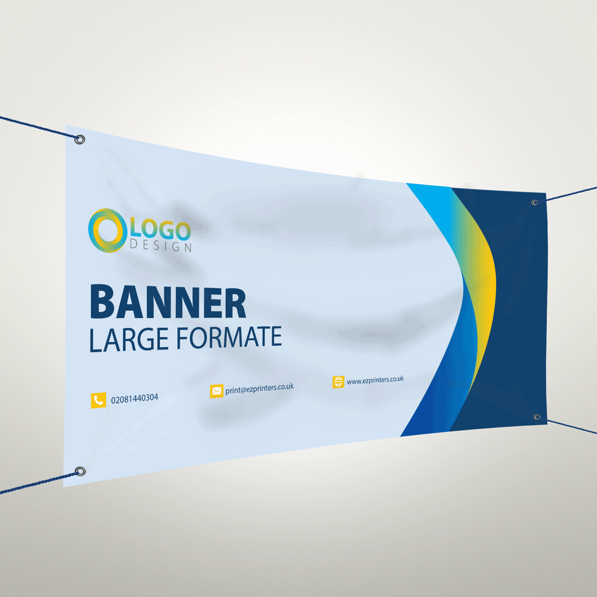 Pvc Banners London Personalised Banners Ez Printers