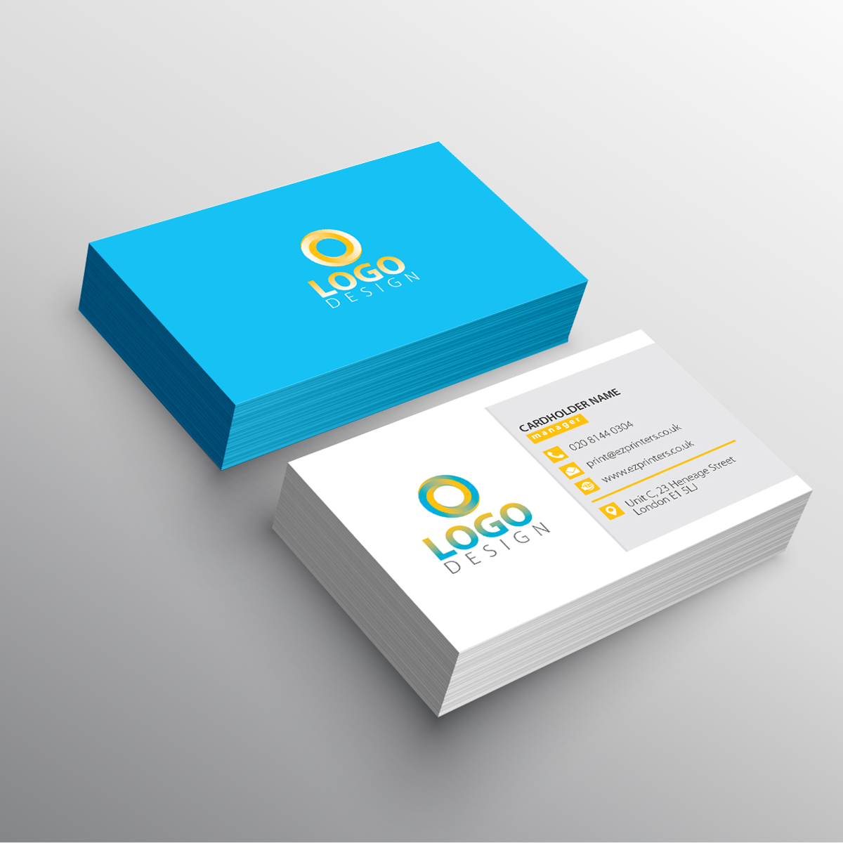 Luxury business cards printing london print business card ez luxury business card design reheart Images