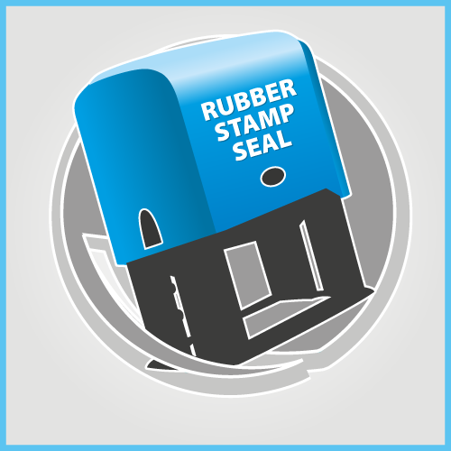 RUBBER STAMP SEAL