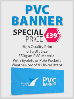 PVC BANNER SPECIAL OFFER