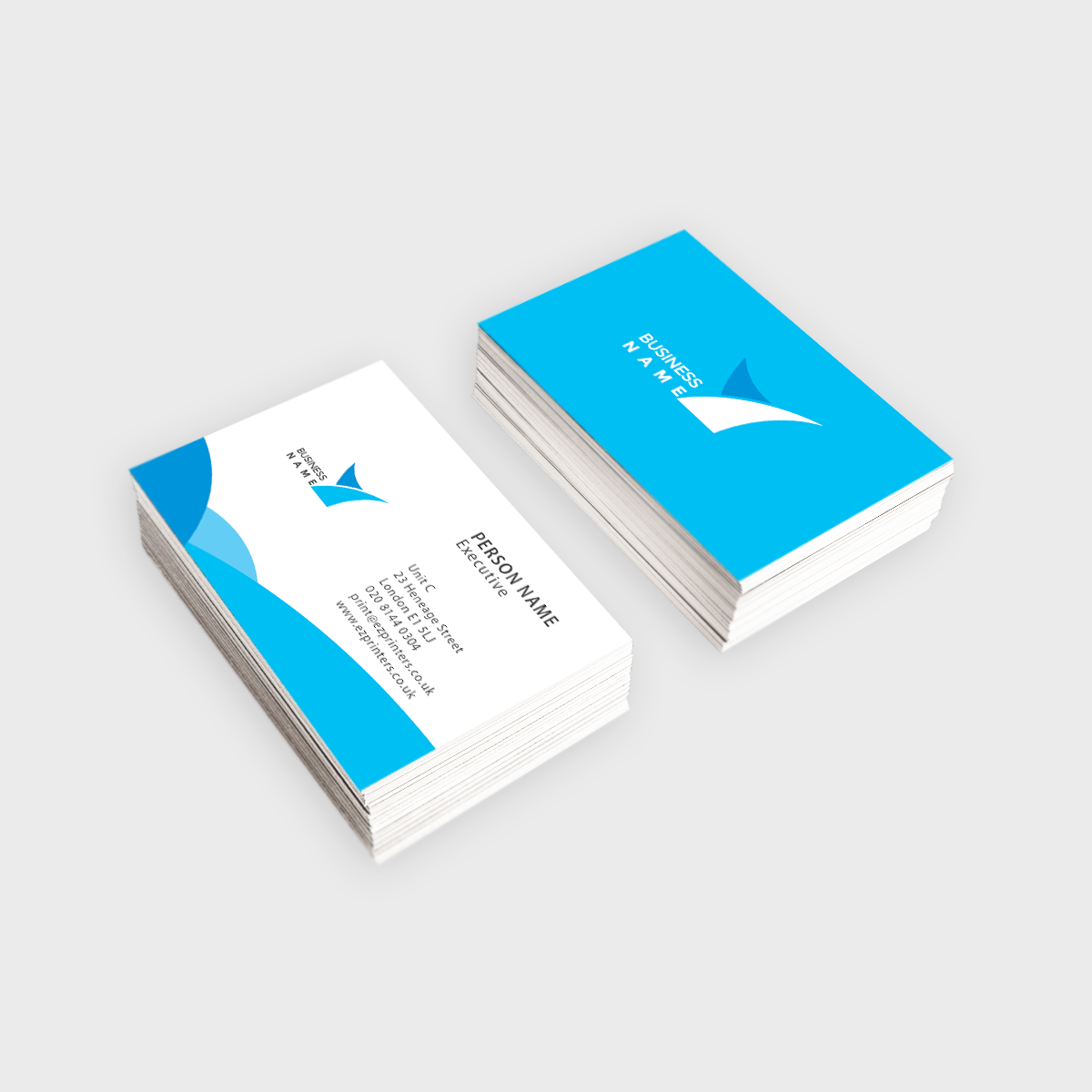 standard business card ez printers