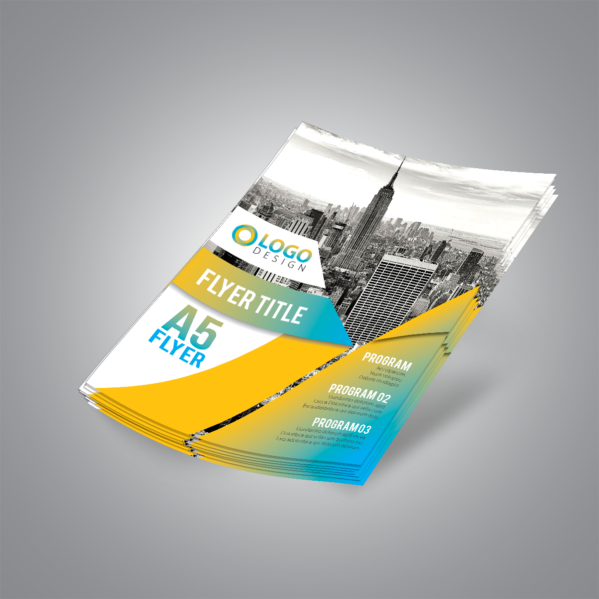 A5 FLYERS AND LEAFLETS