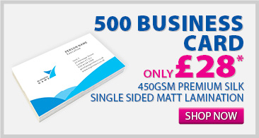 500 BUSINESS CARD ONLY £28