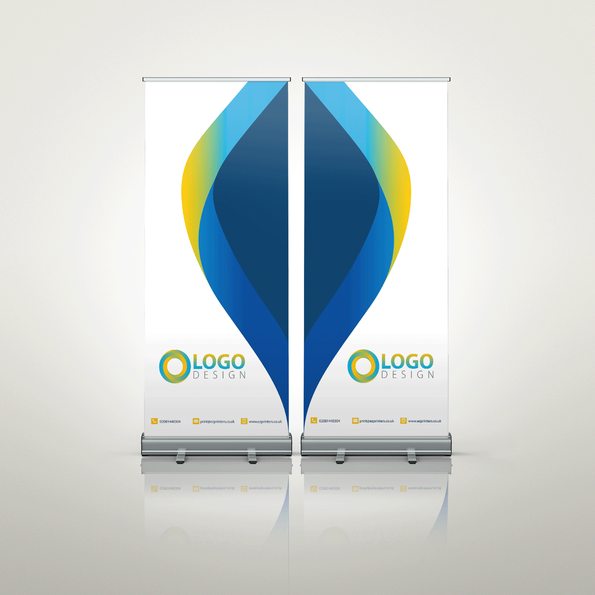 best roller banner trade price printing company london ec1 near me