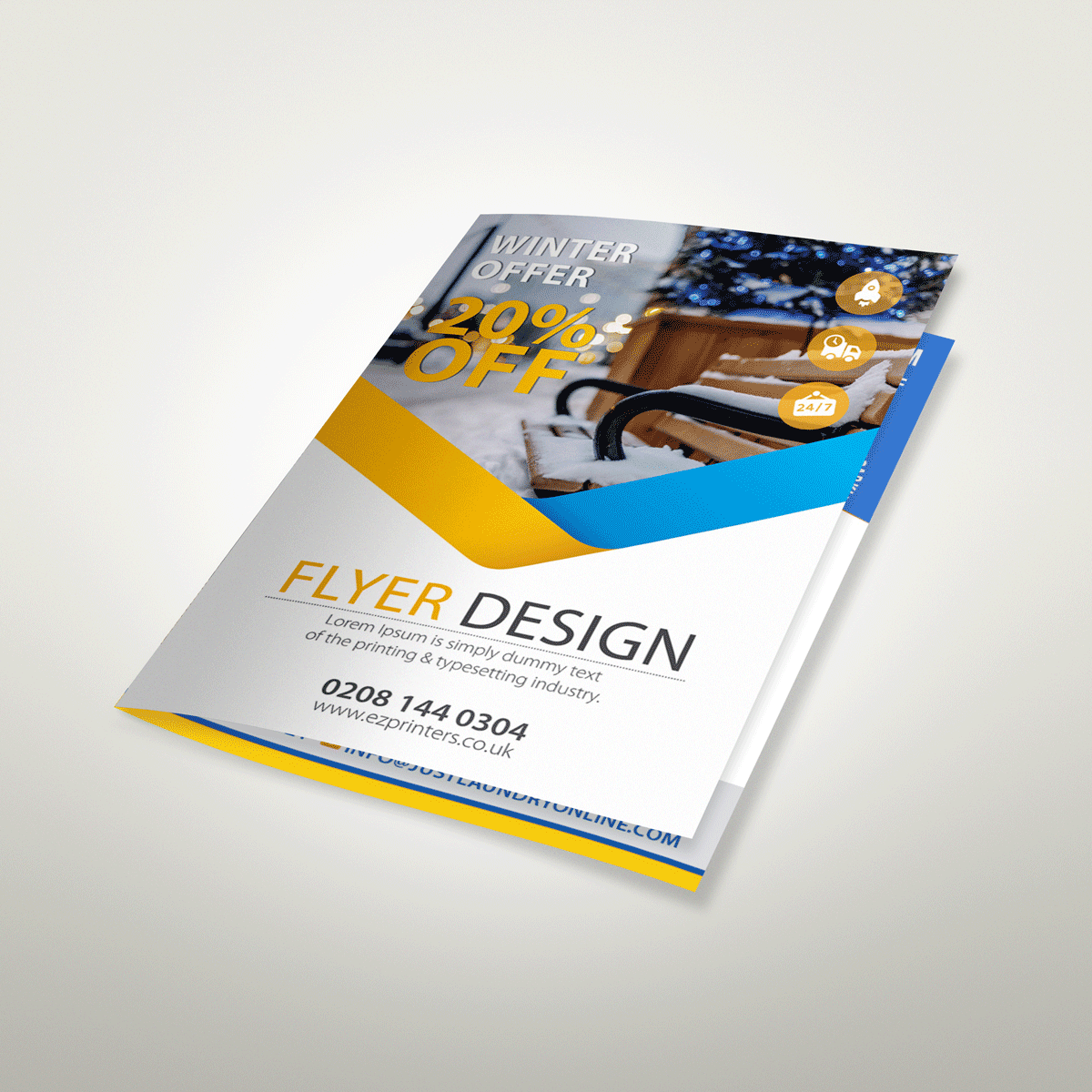 cheap instant last minute quality single and double sided 170gsm matt flyers leaflets printing shop in east london shoreditch near me