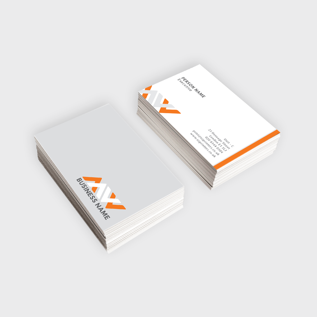 uncoated business card ez printers