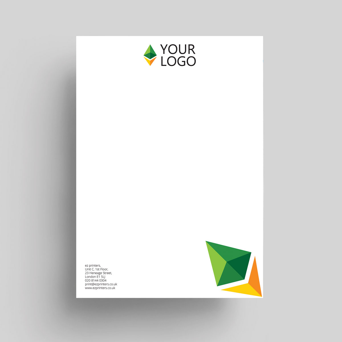 trade price letterhead printer company ec1 london me