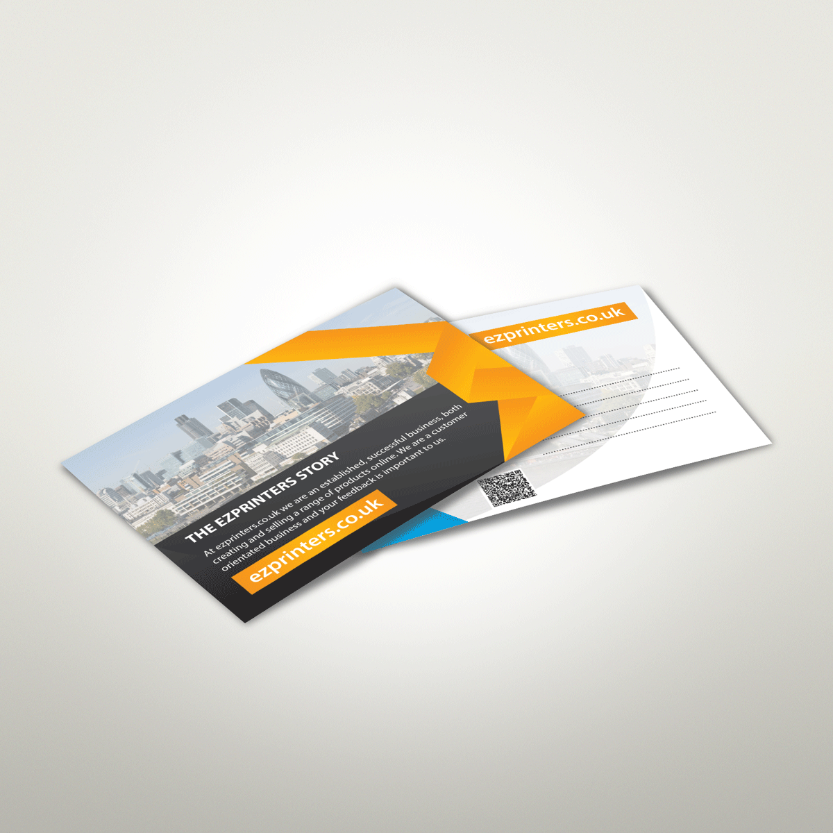 best high quality post card free artwork check printing company in london ec3 near me