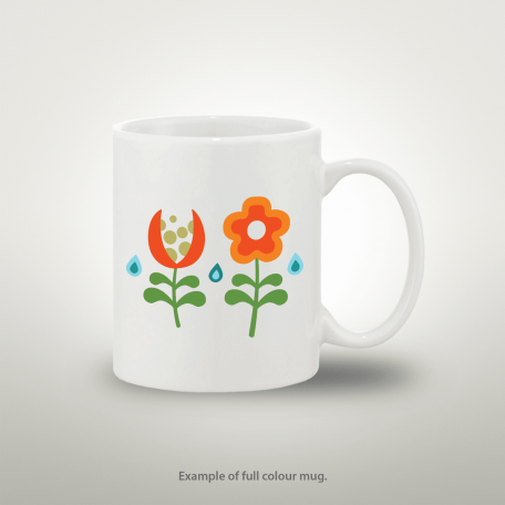 cheap brilliant white gloss cambridge full colour 11oz mugs london production printing shop near me