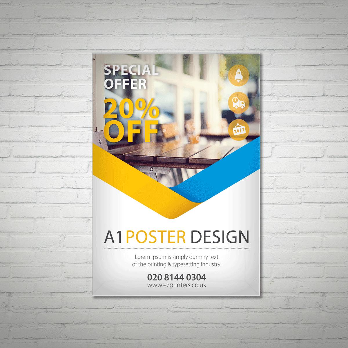 Custom Poster Printing Uk