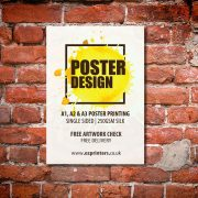 london best a1 poster trade printer company ec1 near me