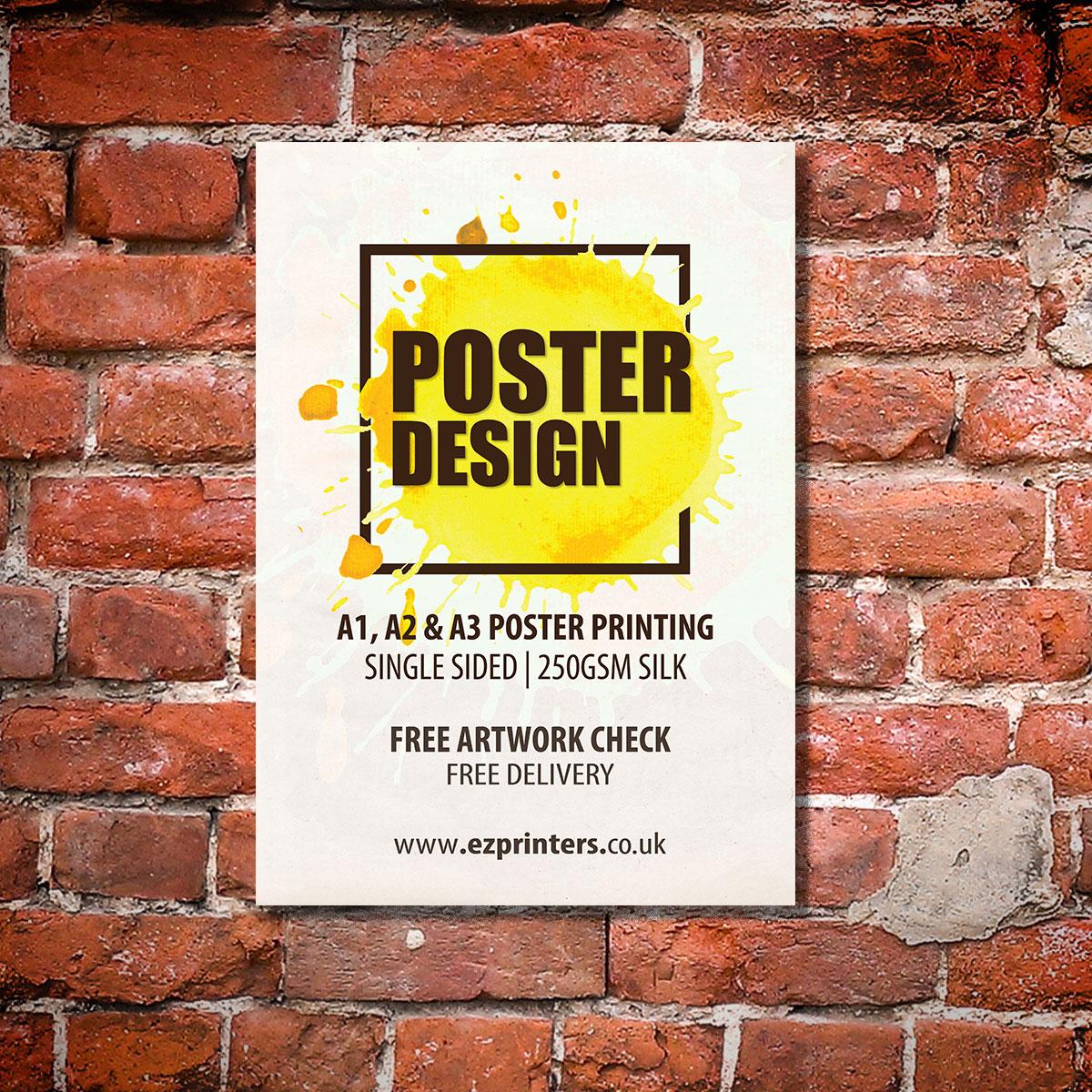 london best a1 poster trade printer company ec1 near me