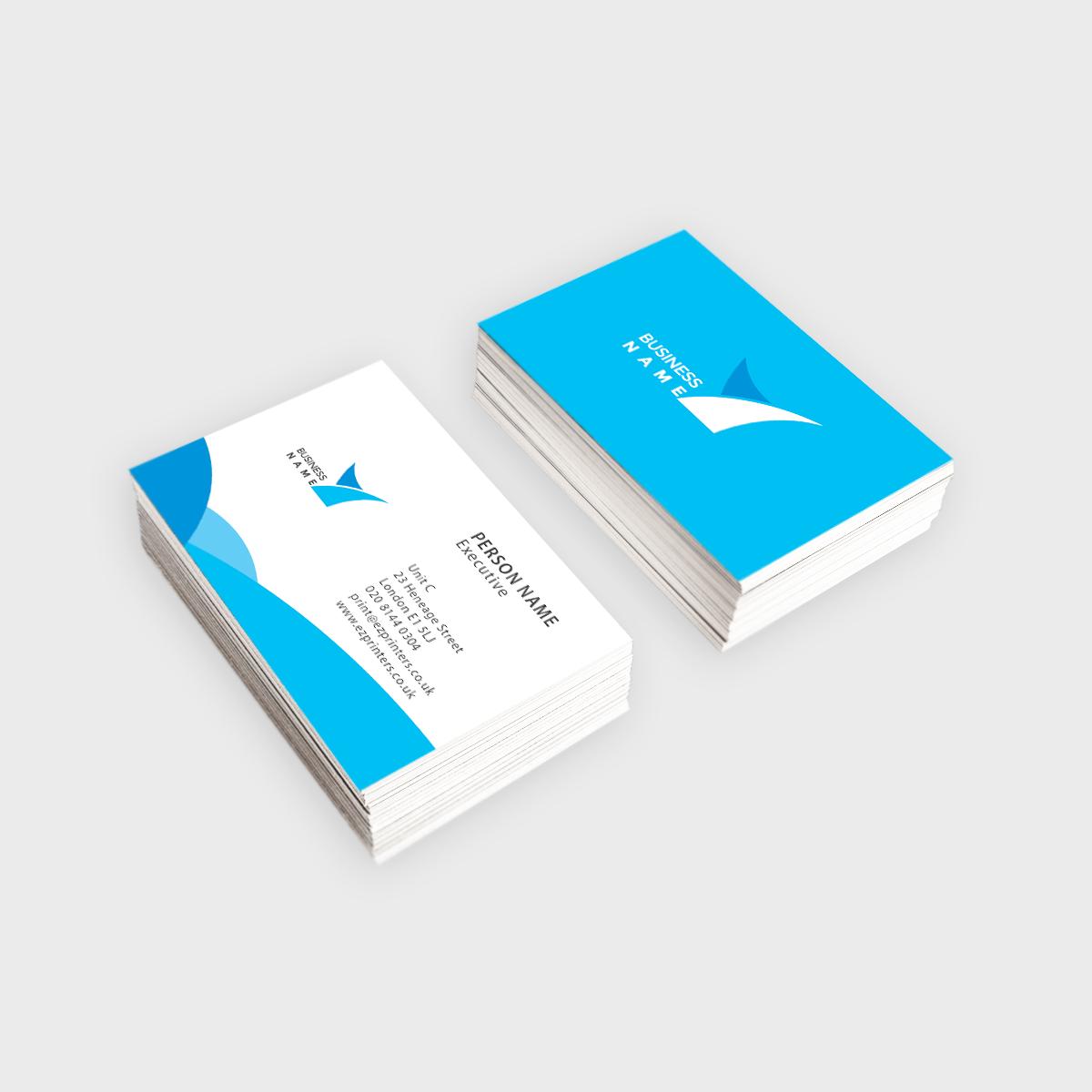 standard business card ez printers