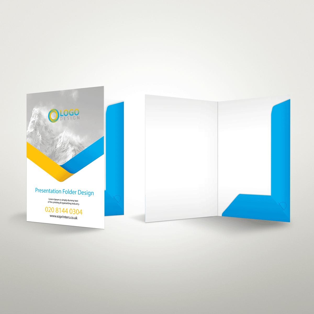 Interlocking Folders | Presentation Folders | ez printers