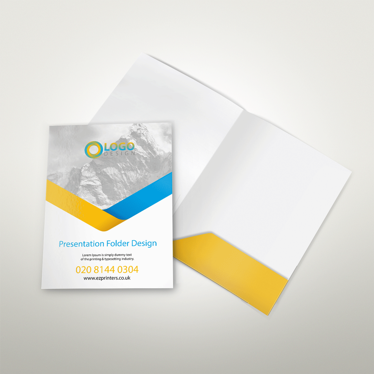 best interlocking presentation folder printing company near ec2 me