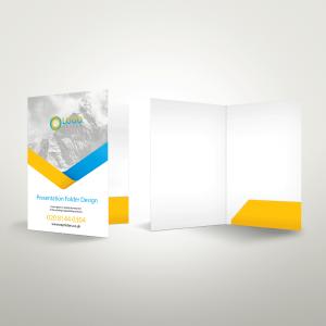 cheap glued presentation folder printing free delivery london ec1 near me