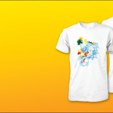 Affordable quality summer t-shirt print