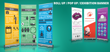 Roller, Pop-up, Stand or Exhibition banner