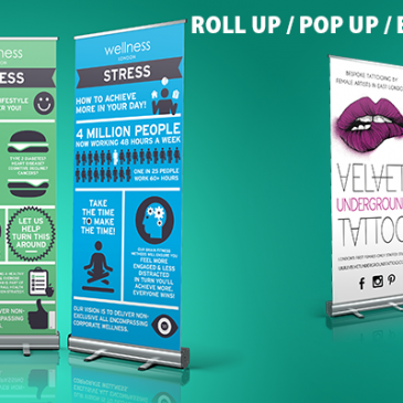 instant printed high quality cheap roll up pop up stand banner print shop near me