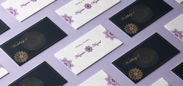 Wedding and invitation cards