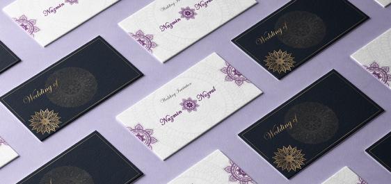 Wedding and invitation cards