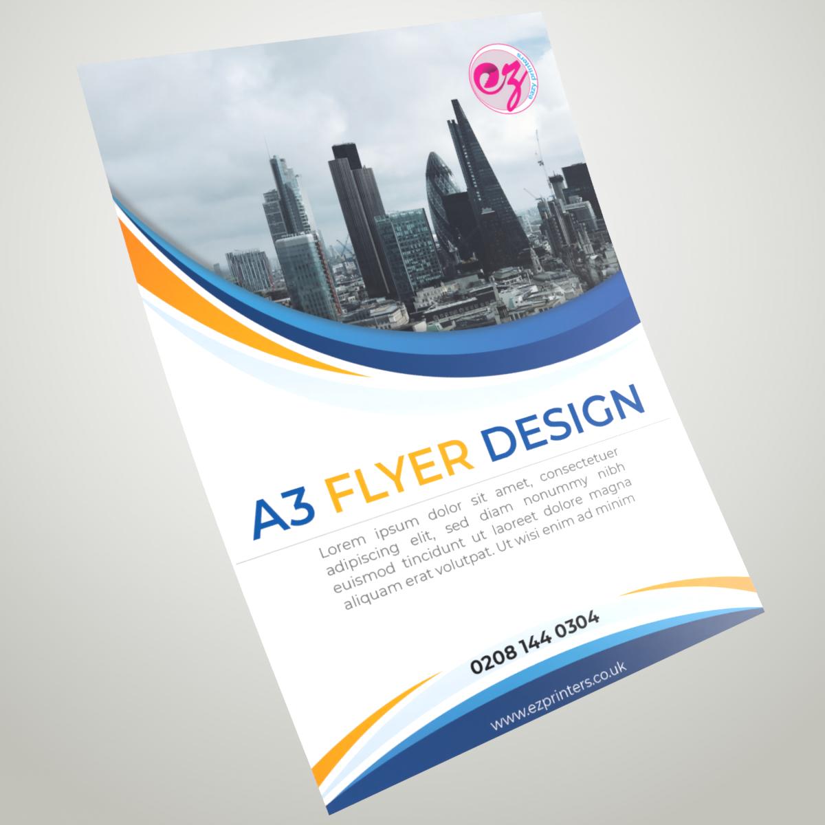 Flyer printing London