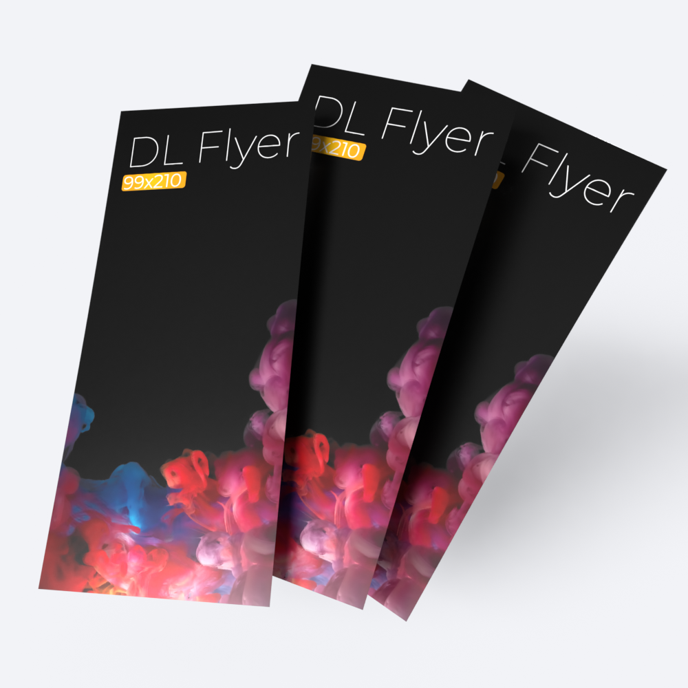 Cheap instant last minute quality single and double sided dl 130 gsm flyers leaflets printing shop in east london shoreditch local