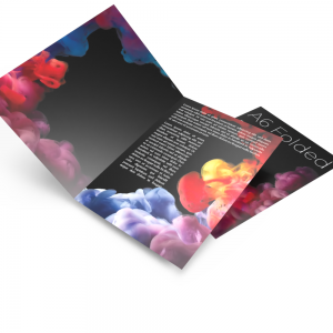 Cheap instant last minute quality A6 4pp 115 gsm folded leaflets printing shop in east london e1 near me local 1.
