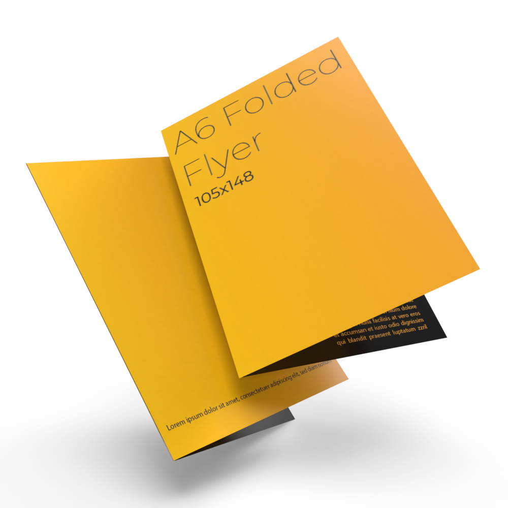Cheap instant last minute quality A6 4pp 170 gsm folded leaflets printing shop in east london e1 near me local 1.