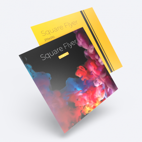 Cheap instant last minute quality single and double sided 210 x 210 115 gsm flyers leaflets printing shop in east london shoreditch local