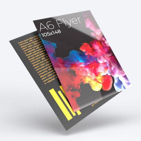 A6 Flyers Leaflets
