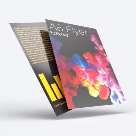 A6 Flyers Leaflets.